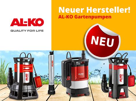 Neuer Hersteller ALKO