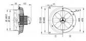 Axiale Hochleistungs-Wandventilatoren