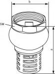 Wilo Mechanisches Zubehör Fußventil R 2
