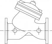 Wilo Mechanisches Zub., Vorbehälter/Zub. Membranventil DN 80/PN 16