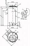 Wilo Vorbehälter für Feuerlöschanlagen (Runde Ausführung) 600l