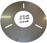 KSB Zub Fußplatte f. transp. Aufstellung DN 32, 50, 65, 80, 100 inkl. Schrauben