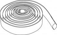 Wilo Kunststoff-Spiralschlauch Innen-d 52 mm, Storz C, 4,5/13,5 bar,20m