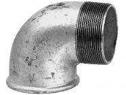 GRUNDFOS Zubehör f.Schmutz-/Abwasserpum. Winkel 90G Rp2_1/2 x R2_1/2 Stahl verz.