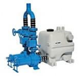 HOMA Überflutbare Abwasser-Doppelhebeanlage  PE40 T-TP70M31/4 D