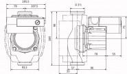 Wilo Nassläufer-Hocheffizienzpumpe Stratos ECO-Z 25/1-5-BMS,Rp1,1x230V,59W