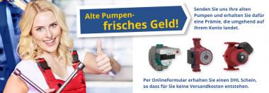 Alte Pumpen - frisches Geld!