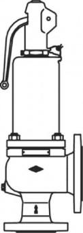 Wolf Sicherheitsventil DN80/125 6 bar Ansprechdruck