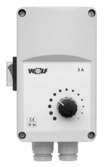 Wolf Stufenloser Drehzahlregler für LD 15 max. Schaltstrom 3,0A, 230V