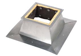 Maico Dachsockel für Flachdächer SO 35 DN350