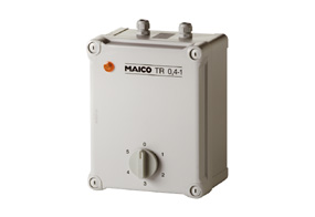 Maico 5-Stufentransformator TR 0,8-1 Drehstrom, max. 0,8 A