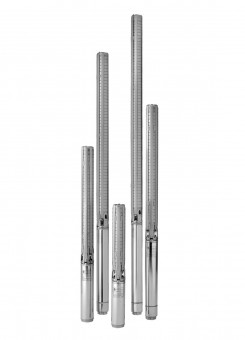 KSB Unterw.-motorpumpe UPA 100C 7/3-Z2 3ph 400 V, 0,37 kW, 1,1 A, Rp 2