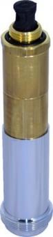 Deltamess Mantelrohr Koax M34 + 90mm, inkl. Rosette