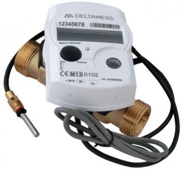 Deltamess Ultraschall-Wärmezähler WM Ultra-Eco 0,6m3/h, Qp 0,6 Baulänge 110 mm