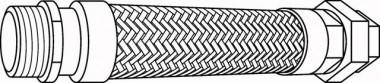 Wilo Flexible Anschlussleitung Rp 21/2 / R21/2
