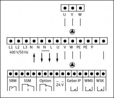Wilo Elektrisches Zub., Pumpensteuerung Schaltgerät ER-2