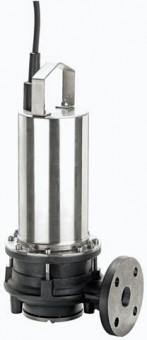 Wilo Abwasser-Tauchmotorp. m. Schneidw. Drain MTS 40/21,Rp11/4/DN40,3x400V,1kW