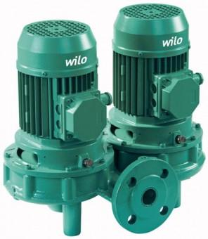 Wilo Trockenläufer-Standard-Doppelpumpe DPL 65/155-5,5/2,DN65,3x400V,5.5kW  Artnr.2121266