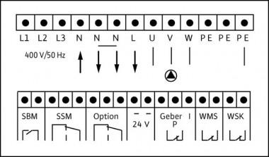 Wilo Elektrisches Zub., Pumpensteuerung Schaltgerät ER1-22,0 DA
