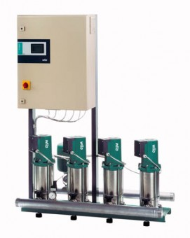 Wilo Mehrpumpenanlage Comfort-N CO-3 MVIS 805/CC,R21/2,3x400V,2.2kW