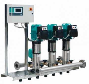 Wilo Mehrpumpenanlage COR-2 Helix VE 1003/K/Cce,1.5kW
