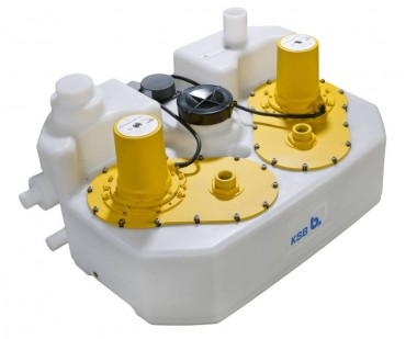 KSB Hebeanlage mini-Compacta UZS2.150 E m. Schneideinr., ohne Rückflußsperre| 230 Volt | Artnr: 29131727