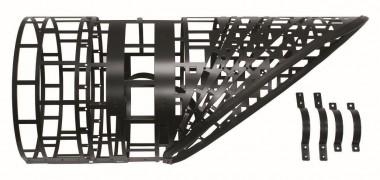 Vaillant Eisfanggitter für senkrechte Dachdurchführung schwarz