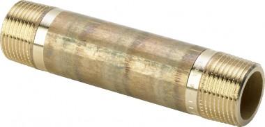 Viega Langnippel 3530 in R2 x 120mm Rotguss