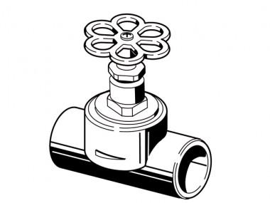 aquatherm green pipe Geradesitz- Ventil 32mm