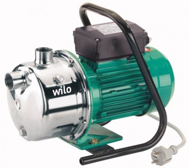 Wilo Hochdruck-Kreiselpumpe Jet WJ 202 1x230V,G 1/G 1,0.65kW
