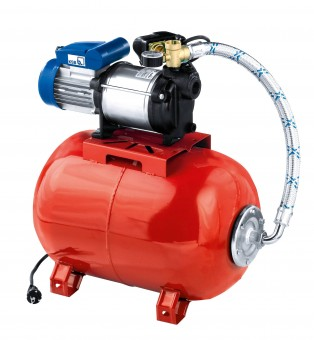 KSB Hauswasserwerk mit SchaltautomatMulti Eco-Top 36 E/50