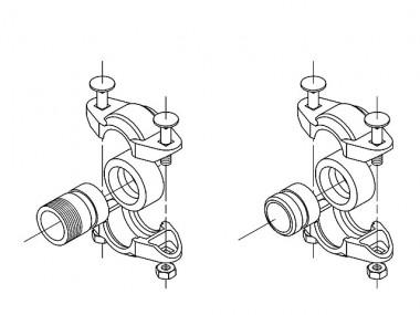GRUNDFOS Zubehör für vert. Kreiselpumpen PJE Victaulic-Kupplung CRT8+CRT16 DN50