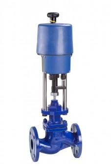 KSB Absperrventil BOA-H Mat E DN150 PN16 Flachkegel, PTFE met. 230V 14kN