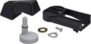 Viega Griff 4987.449 aus Kunststoff schwarz