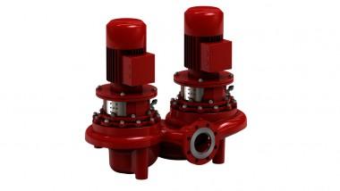 KSB Inlineppe Etaline Z 150-150-250 GG11 22 kW, 4pol, IE3