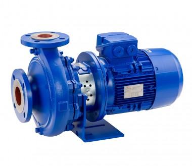 KSB Blockp Etabloc 065-040-125 GG11 4 kW, 2900 1/min, IE3