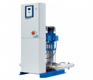 KSB Druckerhöhung Hyamat K 3/0605 B m. 3 Pumpen Movitec 6/5, 1,1 kW