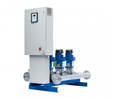 KSB Druckerhöhung Hyamat V 6/4002-2 B m. 6 Pumpen Movitec VF 40/2-2, 5,5 kW