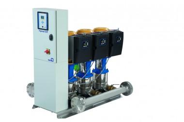 KSB Druckerhöhung Hyamat SVP 5/0210 B mit 5 Pumpen Movitec V 0210 B, 0,75 kW