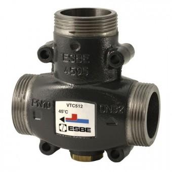"ESBE thermisches Ladeventil VTC512 Öffnungstemp. 60 Grad, Kvs 9, 1.1/4""AG"