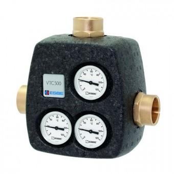 """ESBE thermisches Ladeventil VTC531 Öffnungstemp. 65 Grad, Kvs 8, 1.1/4""""IG"""