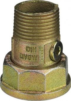 Viega Gaszähler-Anschlussverschraubung G2337 in R1 Temperguss
