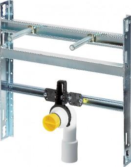 Viega Modul / Waschtisch Steptec 8055.4 in 430mm Stahl verzinkt
