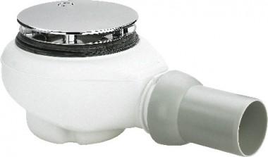 Viega Ablaufgarnitur Tempoplex Plus 6960 in 112x50mm Kunststoff verchromt