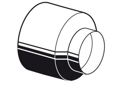 aquatherm grey pipe Endhülse für Wellrohr Art 77012 rot