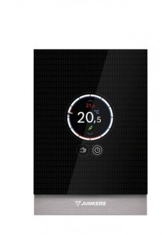Junkers smarter Design-Regler CT 100 Touch-Screen, smarte Funktionen über App