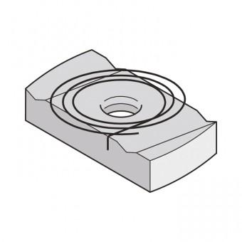 Flamco Kunststoffdübel PP 8 x 40 für M6