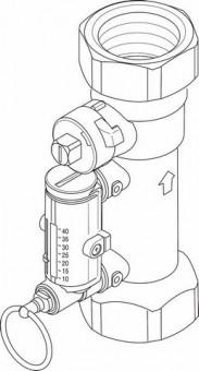 Junkers Ersatzteil TTNR: 87185320690 Durchflussmesser 30-120 l/min