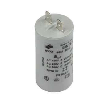 Junkers/SIEGER Ersatzteil TTNR: 87185728350 Kondensator 5 MF 450 V MK everp