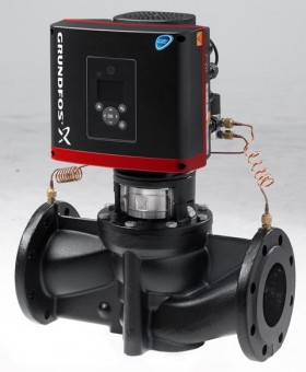 GRUNDFOS Elektr. ger. Trockenläuferpumpe TPE125-130/4-S-A-F-A-BQQE PN16 3x400V